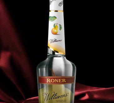Roner con pera dentro la bottiglia – Grappa da 70 cl