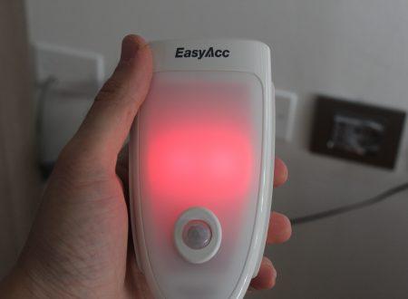 EasyAcc lampada led di servizio ed emergenza con sensore PIR