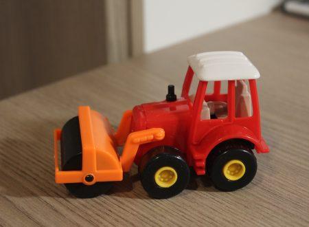Veicoli edili giocattolo con retro carica