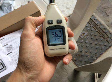 GRDE termometro ed igrometro di precisione