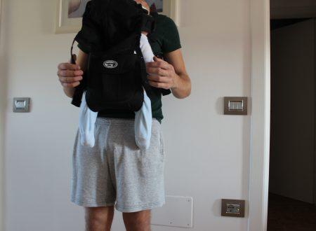 Langforth marsupio porta bambini multifunzionale cert. EN13209-2:2005