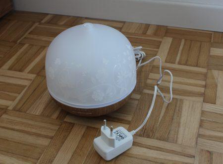 Iselector umidificatore e aroma diffusore da 500ml in vetro