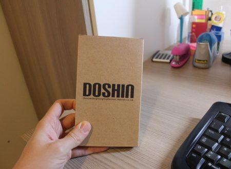 DoSHIn powerbank in alluminio da 12000 mAh ultra sottile