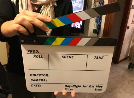 Gearmax CIAK cinematografico in acrilico ideale per scrivere e cancellare