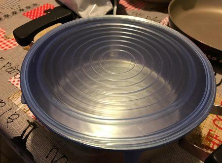 GHB coperchi in silicone estensibili trasparenti (6 pezzi in varie misure)
