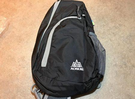 LaTEC borsa a tracolla da petto per escursioni, bicicletta, trekking