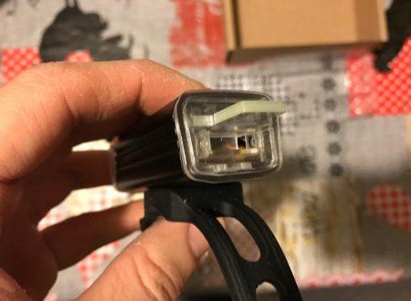 Go Pal luce per bicicletta frontale molto potente e ricaricabile via USB