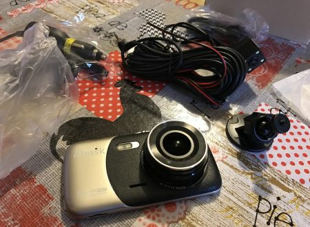 Abask dash cam 1080p, Gsensor e visione notturna con display 4 pollici