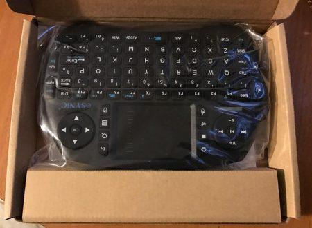 ESYNiC mini tastiera wireless con touchpad