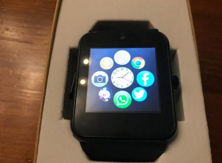 """LaTEC smartwatch con bluetooth e display da 1,54"""" con slot per SIM"""