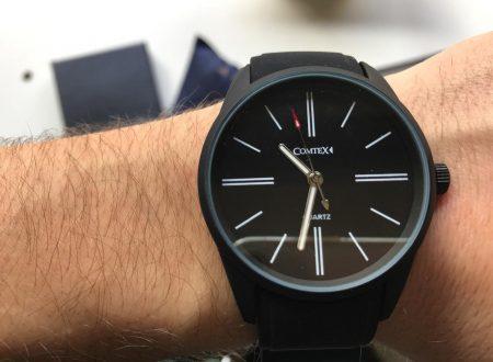 Comtex orologio da polso per uomo impermeabile