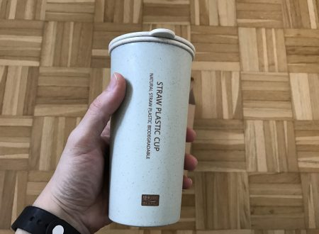 Lemonda bicchiere termico da 400ml in plastica biodegradabile ecologica