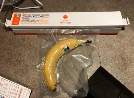 KYG piccola macchina per il sottovuoto alimentare con 15 sacchetti inclusi