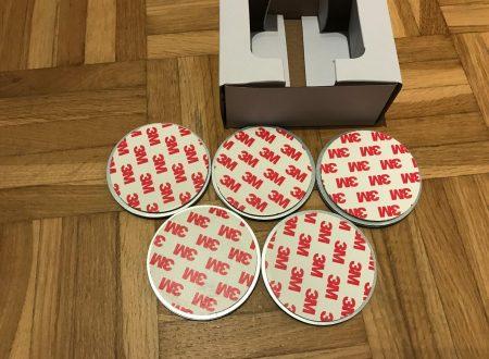 X-sense MA-1 attacco magnetico per rilevatore di fumo (pacco da 5 pezzi)
