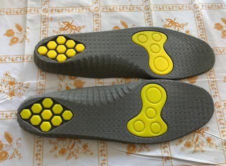 Plemo solette per scarpe ammortizzate, ideali per lo sport