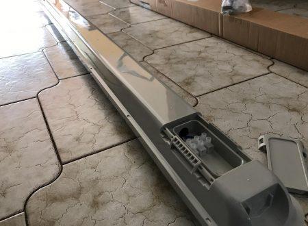 J&C plafoniera led da 120cm per esterno, equivalente 160W