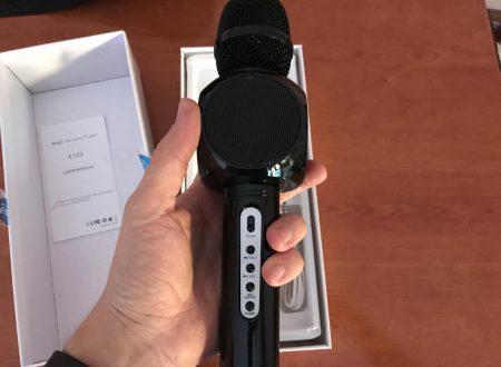 Moda microfono con cassa bluetooth integrata