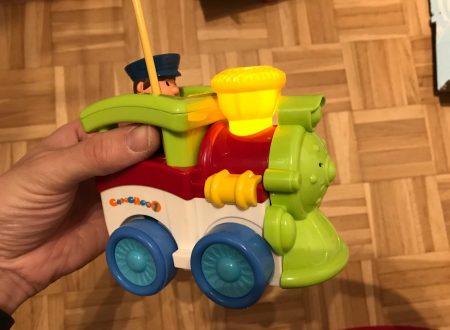 Stoga piccola locomotiva con suoni e luci radio comandata per bambini
