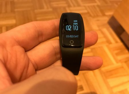 Yamay HR3 braccialetto smart impermeabile con cardiofrequenzimetro