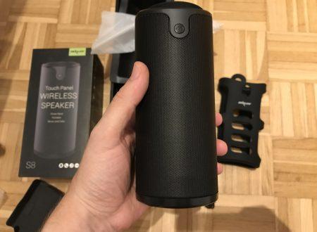 Zealot S8 speaker bluetooth con batteria da 4000mAh con involucro in silicone