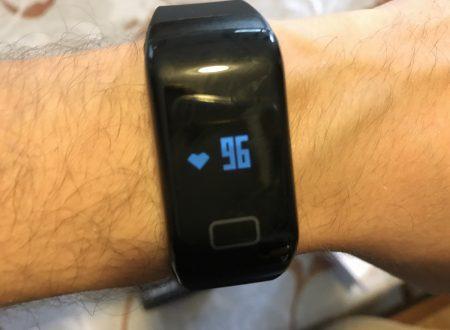 Chereeki smart bracelet con rilevazione cardiaca IP67