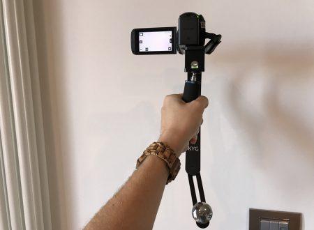KYG stabilizzatore portatile per videocamere e fotocamere