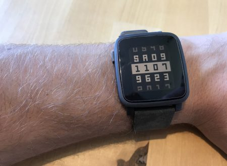 Pebble Time Steel smartwatch con display a colori e-paper