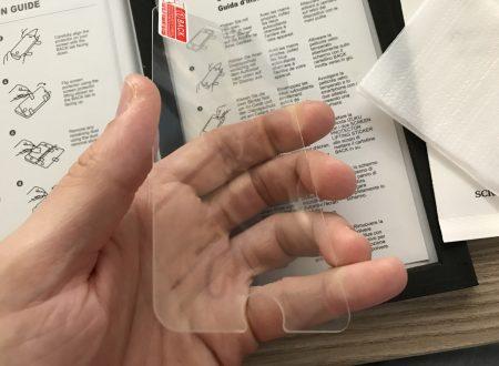 Izuku set di 2 vetri temperati di protezione da 0,26mm per iPhone 7