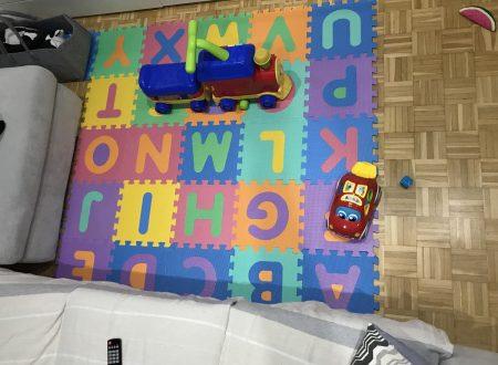 Velovendo tappeto puzzle in schiuma EVA – lettere alfabeto