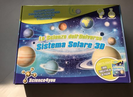 Science4you Sistema Solare 3D da costruire