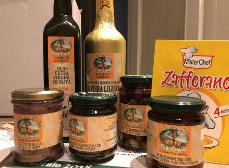 E. Amoretti Di Lorenzo olio e prodotti dalla Liguria dal 1922