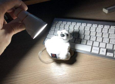 PinShare una lampada usb con clip con tante doti