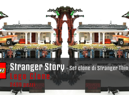Stranger Story – set clone del set lego dedicato a Stranger Things